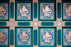 Orientalisches Dach Lizenzfreie Stockfotos