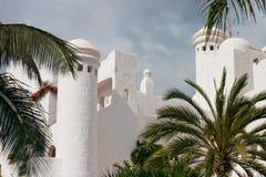 Orientalisches Hotel Stockfotografie