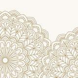 Orientalisches mit Blumenmuster Stockfotografie