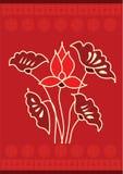 Orientalisches Muster Lizenzfreie Stockbilder
