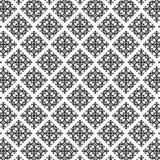 Orientalisches Muster in Schwarzweiss, Grafik sauber für Gewebe, Tapete, Hintergrund vektor abbildung
