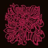 Orientalisches Musterelement in den Linien vektor abbildung