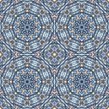 Orientalisches nahtloses geometrisches Gewebemuster Ethnieverzierung Dekorativer Hintergrund, Beschaffenheit, mit Ziegeln gedeckt Stockfoto