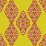 Orientalisches nahtloses Muster Stockfotografie