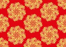 Orientalisches nahtloses Muster Stock Abbildung