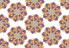 Orientalisches nahtloses Muster vektor abbildung