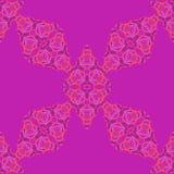 Orientalisches nahtloses Muster Wiederholen der Verzierung in den hellen Farben Lizenzfreie Stockfotografie