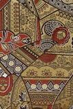 Orientalisches Silk Gewebe-Muster stockfotos
