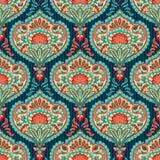 Orientalisches Tapetenmuster Stockbild