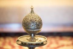 Orientalisches Weihrauchgefäß lizenzfreie stockfotos