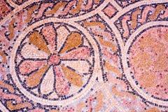 Orientalisk bakgrund för mosaikgolv Arkivbilder
