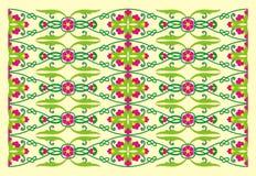 Orientalisk prydnad Royaltyfria Bilder