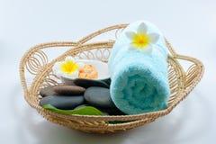 orientalisk brunnsortterapi för massage Arkivbilder