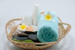 orientalisk brunnsortterapi för massage Royaltyfri Fotografi