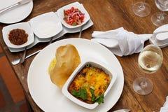Orientalisk currymaträtt Royaltyfri Foto