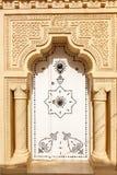 Orientalisk dörr Arkivbild