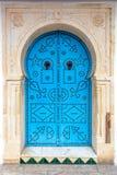 Orientalisk dörr Arkivfoton