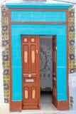 Orientalisk dörr Royaltyfria Bilder