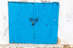Orientalisk dörr Royaltyfri Foto