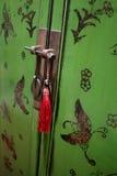 orientalisk dörr Fotografering för Bildbyråer