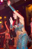 orientalisk dansare Arkivbild