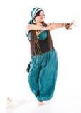 Orientalisk dansare Arkivbilder