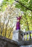 Orientalisk dansare Arkivfoton