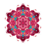 Orientalisk dekorativ blomma Arkivbild
