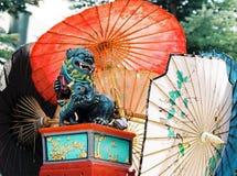 orientalisk drake Royaltyfri Fotografi