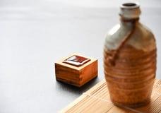 orientalisk drinkstil för japansk skull Royaltyfri Foto