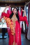 orientalisk flicka arkivbilder