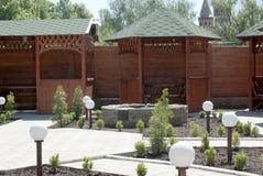 orientalisk gård Royaltyfri Fotografi