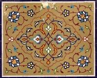 orientalisk garneringmosaik Arkivbild