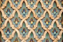orientalisk garneringmosaik Arkivfoton