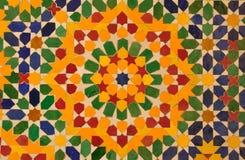 orientalisk garneringmosaik Arkivfoto