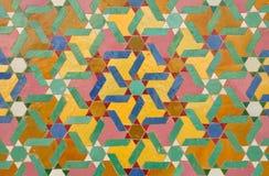 orientalisk garneringmosaik Arkivbilder