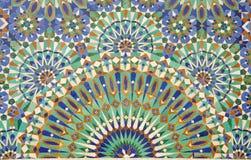 orientalisk garneringmosaik Fotografering för Bildbyråer
