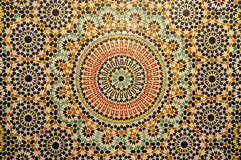 orientalisk garneringmosaik Royaltyfria Bilder