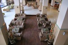 orientalisk hotelllobby Arkivfoton