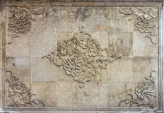 Orientalisk kinesisk design för inre Royaltyfri Bild