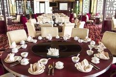 Orientalisk kinesisk restaurang Arkivbilder
