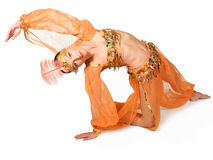 orientalisk kvinna royaltyfri foto