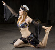 orientalisk kvinna för dansare Arkivfoto