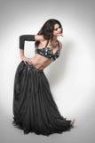 orientalisk kvinna för dansareklänning Arkivbilder