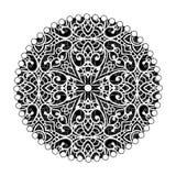 Orientalisk mandaladesign Tappningprydnad Stam- orientering Islam, stock illustrationer