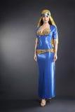 Orientalisk modekvinna Royaltyfri Bild