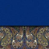 Orientalisk modell, abstrakt sjaskig kulör bakgrund Royaltyfria Foton