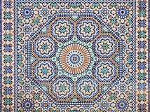Orientalisk mosaik Arkivbild