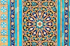 Orientalisk mosaikmodell Arkivbild