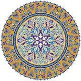 orientalisk prydnad royaltyfri illustrationer